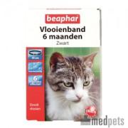 Beaphar Flohband Katze - 6 Monate - Schwarz