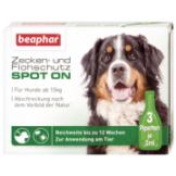 Beaphar Zecken- und Flohschutz SPOT-ON für Hunde 3x1ml für große Hunde (ab 15 kg)