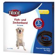 Trixie Floh- und Zeckenband für Hunde braun 60 cm - 3 Stück