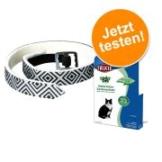 Trixie Katzenkombiset: Zeckenschutzmittel & -Halsband - 4 x 0,75 ml + Schutzband