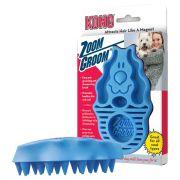 KONG Dog Massagebürste Zoom Groom - L 12 x B 7,5 x H 4 cm